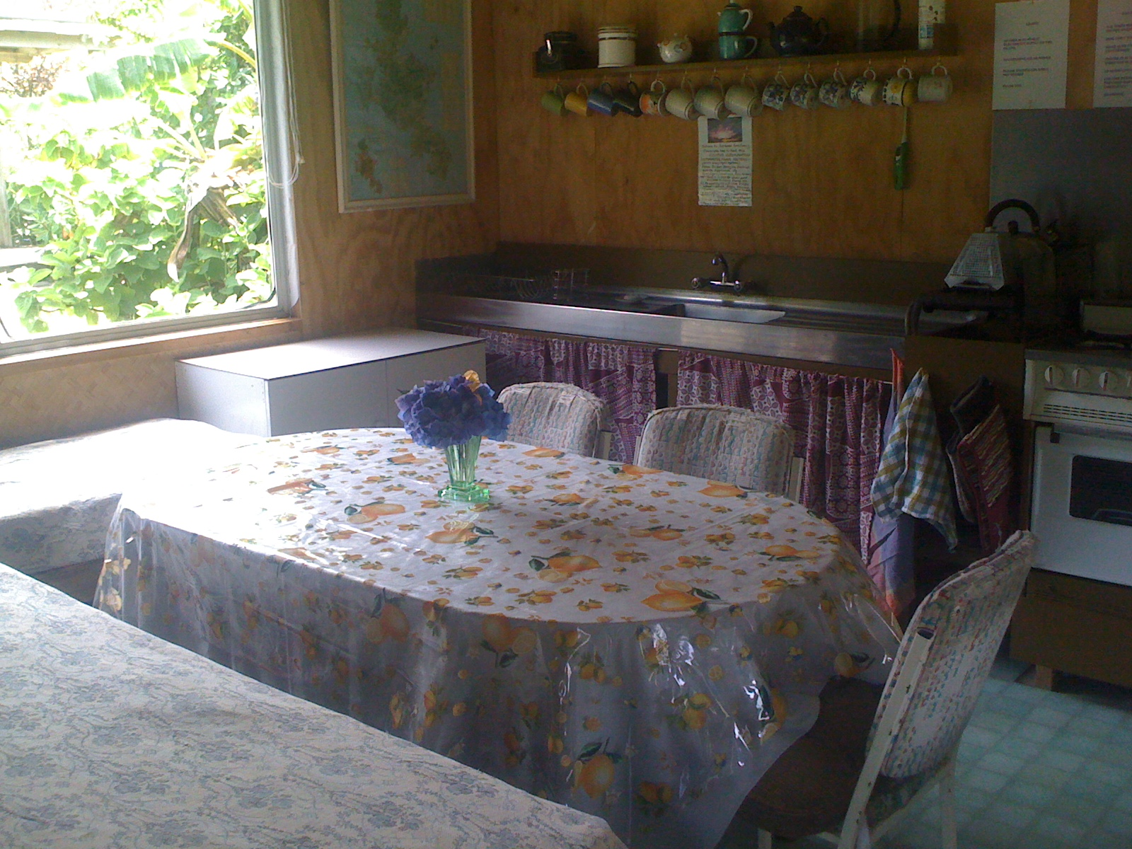 Kitchen/Dining Area for Dome and Garden Cabins
